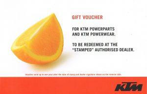 Eurotek KTM Gift Card