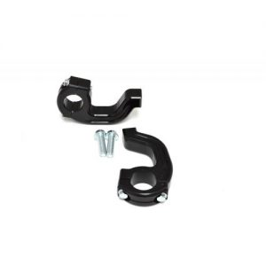 1-1/8″ Tapered EVO2 Debris Deflector Clamp Set Black Renthal FatBar/Neken/Pro Taper 50-214B