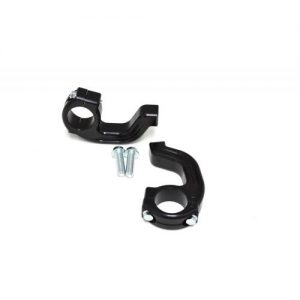 1-1/8″ Tapered EVO2 Debris Deflector Clamp Set Black Twinwall Renthal 50-260B