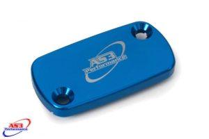 BETA 125 200 250 300 350 390 400 430 450 480 520 RR XTRAINER 2010-2020 FRONT BRAKE RESERVOIR COVER BLUE