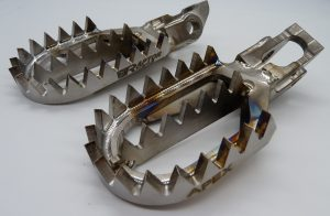 RX016 KTM / GasGas / Husqvarna Apex Titanium Footpegs