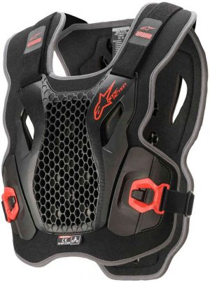 BIONIC ACTION PROTECTION VEST (Red /Black)