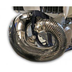 Pro-Carbon Exhaust Guard 17-19 (KTM, Husqvarna – Standard Pipe)