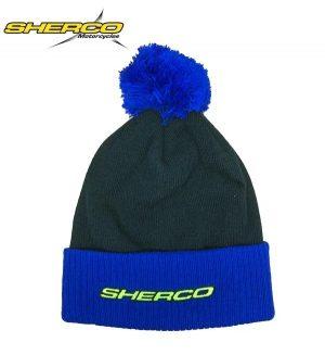Sherco Wooly Beanie Hat Black/Blue