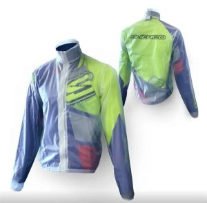 Sherco Transparent Zipped Over Jacket