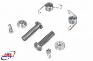 AS3 BOLT ON FOOT PEG PINS 10MM (Sherco)