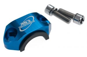 AS3 ROTATING CLUTCH / BRAKE CYLINDER BAR CLAMP – BLUE (Sherco)