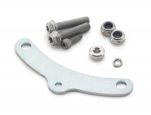 Sensor magnet retaining bracket