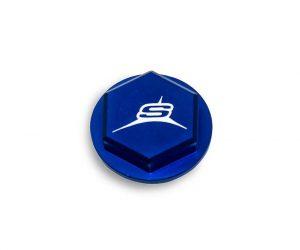 Sherco Rear Brake Master Cylinder End Cap – Blue