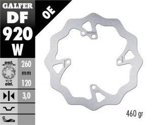 Galfer Front Brake Disk (Sherco)