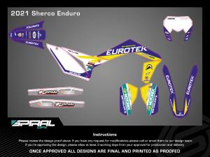 Eurotek Team Decals (Sherco)